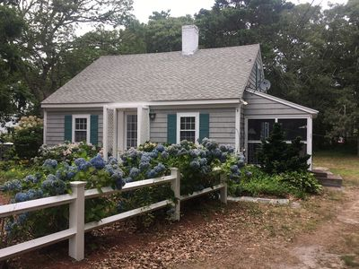 Photo for Cape Cod Cottage 300 yards from the beach and warm waters of Nantucket Sound.