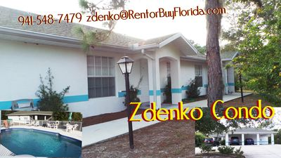 Photo for SUNNY, MODERN, LARGE  2 BEDR, 2 BTHRM  CONDO, POOL, IN SUNSET VILLAGE,