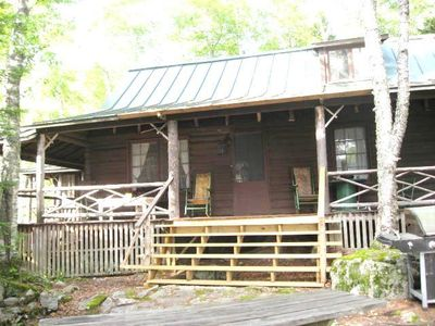 Photo for Relax & Renew in turn-of-century log cabin with side cabin