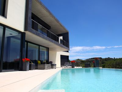 Photo for Luxury villa with amazing sea view and infinity swimming pool
