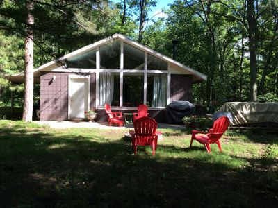Photo for Cottage, Private, Woods, Trails, 2000 Acre Duck Lake, Kayak, Concerts