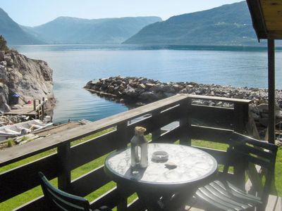 Photo for Vacation home Hardangerrorbu (FJH411) in Tjoflot - 3 persons, 1 bedrooms