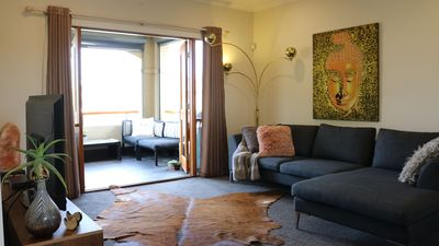 Photo for Private Upstairs Suite Close to City & Beach