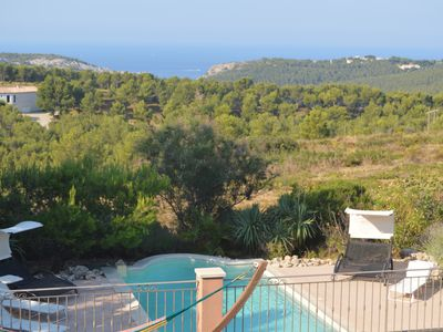 Photo for Villa with panoramic view, not overlooked