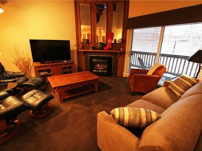 Photo for Snow Flower Condo #129, 2 bed/loft 3 bath, sleeps 8, SKI-IN/SKI-OUT to Park City Mountain Resort