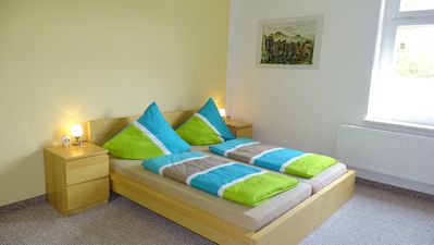 Photo for Quiet, central and great accommodation for up to 8 people, terrace, river Elbe