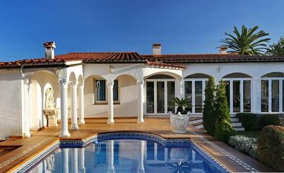 Photo for Apart-Rent-House with mooring and pool (0040)