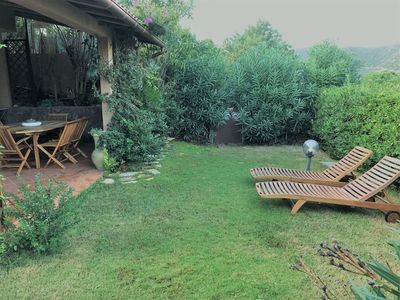 Photo for Cottage with Air Condition, Garden, Terrace & Pool; Parking Available