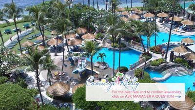 Photo for Marriott Maui Ocean Club. 2 bed villa. Oceanfront resort- Over 450 Vrbo reviews!