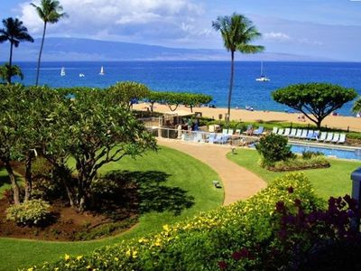 Photo for Gorgeous Luxury Studio With Spectacular Ocean Views -Whale Watch From The Lanai!