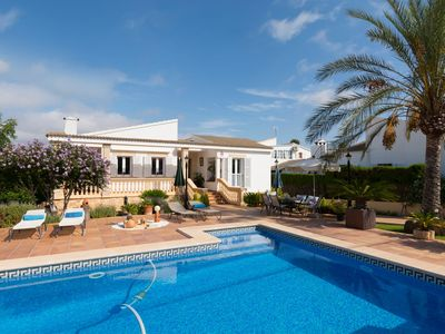 Photo for Modern Holiday Home Ca Tothom with Wi-Fi, Garden, Terrace & Pool; Parking Available