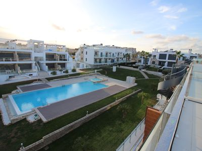 Photo for wonderfull penthouse with in and out door pool and activities