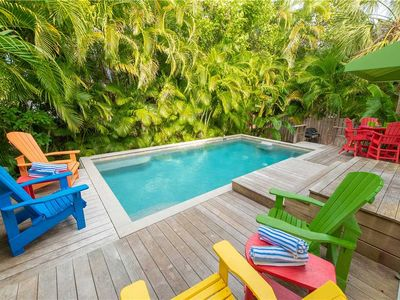 This beach house has it all & is 30 seconds to the white sandy AMI beaches!