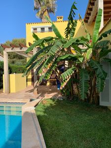 Photo for Cala Bona - Beach House with private pool, wifi, walk to the beach