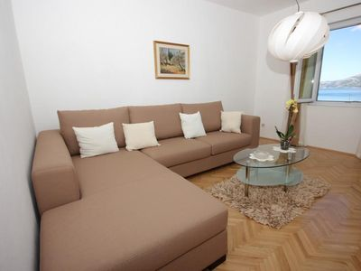 Photo for Three bedroom apartment with terrace and sea view Koločep (Elafiti) (A-2182-b)