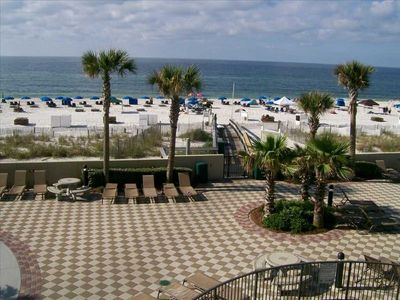 Photo for OCTOBER Special! Lazy River Beachfront 2nd floor PH West Text Owner 4 Best rate