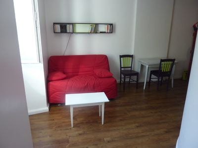 Photo for Beautiful and large studio of 22m2 in the city center