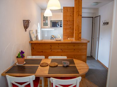 Photo for Lovely very bright apartment in the heart of Chamonix