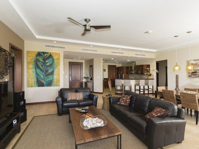 Photo for Luxury 3BR Resort Condo- Panoramic Ocean & Golf view @ Conchal Beach