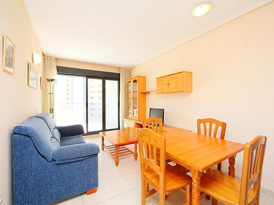 Photo for Apartment Mirador del Mediterráneo in Benidorm - 3 persons, 1 bedrooms