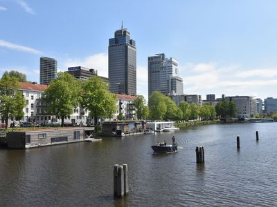 Photo for Very luxurious and complete house boat in a quiet location in Amsterdam