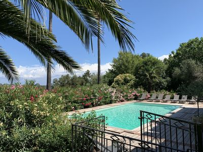 Photo for Stunning villa with private pool 7 minutes walk from the beach