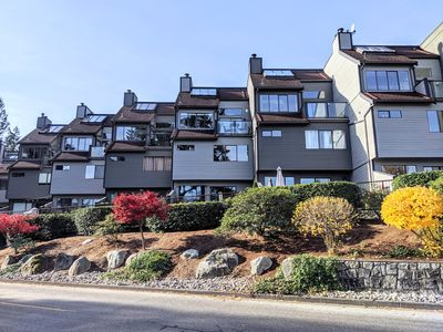Photo for Waterfront townhome in the heart of Deep Cove - 2 months minimum stay!