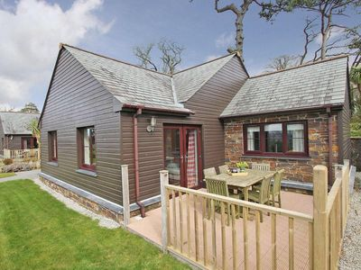 Photo for CASTAWAY LODGE, family friendly, with pool in Fowey, Ref 959754