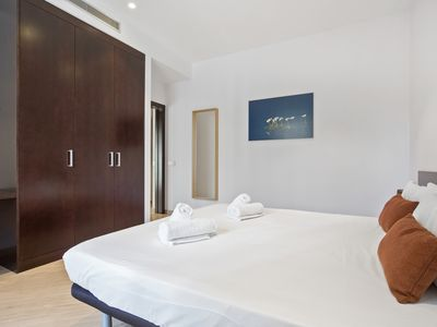 Photo for Elegant and comfortable Barcelona city center Apartment