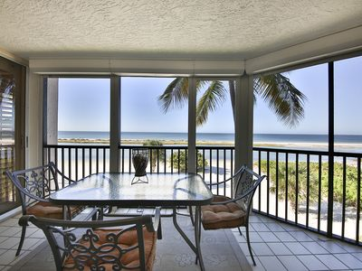 Photo for Gulf Front Condo - Steps to the Beach!