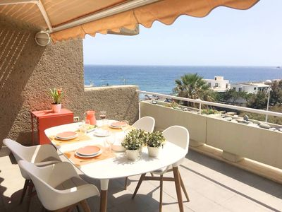 Photo for 3 bedroom apartment at El Poris, with direct sea view, free wifi