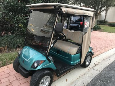 Complimentary gas Yamaha golf cart included for your use!