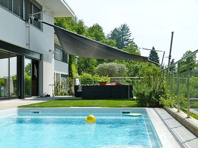 Photo for 4 bedroom Villa, sleeps 6 in Lanaggio with Pool and WiFi