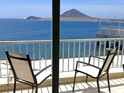 Photo for Exclusive Apartment with private terrace-solarium facing the sea