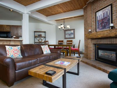 Photo for Cute Mountain Condo-Private Patio/Ground Floor-Close to Everything Stmbt Offers
