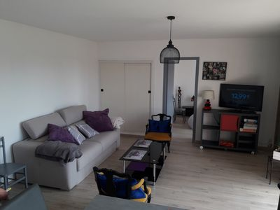 Photo for 50 m2 furnished apartment with balcony