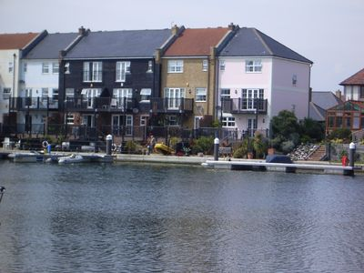 Photo for Luxurious 4 bedroom semi-detached town house on the waterfront dble garage&2spac