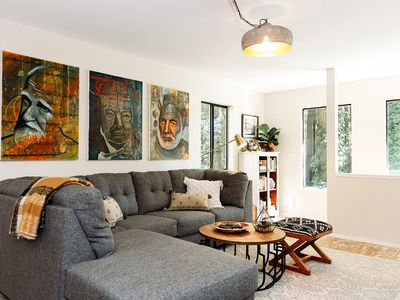 Photo for Artist's Perch ~ Private Retreat Surrounded by Redwood Forest, Wine Country