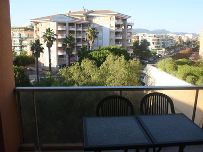 Photo for Rent studio with terrace at 20m from the beach, Le Capitol in Fréjus for 4 people