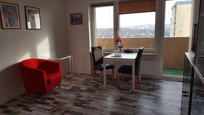 Photo for Apartment with balcony in Würzburg, brand new, near university, 4 km to the center
