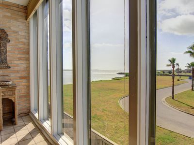 Photo for 2 bedroom 2 bath condo in the heart of Port Aransas! Ship Channel view!