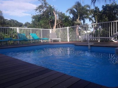 Photo for Villa Margot Creole style with private pool in St-Francois