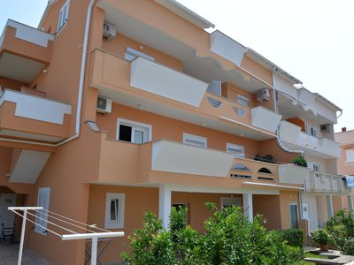 Photo for Apartments ANTON for 9 people near the center of Novalja