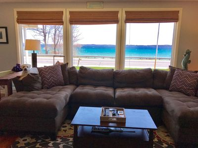 Photo for Beautiful Leelanau County Sunrises Over West Bay - Private Frontage