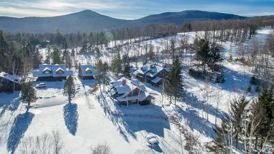 Photo for NEW! Slopeside Ski-In-Ski-Out Luxury at Stowe Mountain Resort