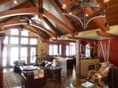 Main living space provides unlimited views of Gull Lake