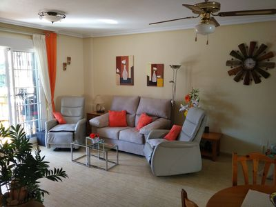 Photo for CASA KAI Beautiful spacious and quiet holiday apartment in Orihuela-Costa, Campoamor,
