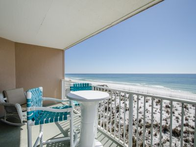 Photo for Gulf Front 2 bedroom Townhouse in Starboard Village. Free WiFi. Swimming Pool