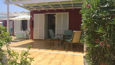 Photo for Bungalow with large private terrace in Maspalomas.