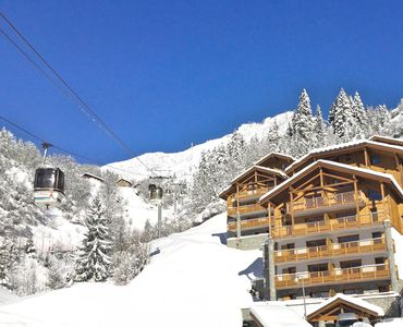 Photo for Luxious flat - 2 bedrooms SKI-IN/SKI-OUT PARADISKI LA PLAGNE - terrace with view